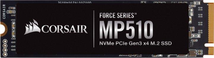 Corsair SSD Force Series MP510 240GB NVMe M.2 2280 PCIe 3.0 3D NAND TLC (CSSD-F240GBMP510) - изображение 1