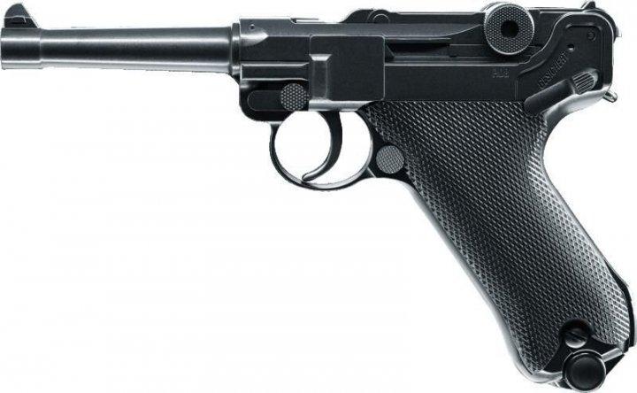 Пневматичний пістолет KWC P-08 Luger Parabellum KMB-41 DHN Blowback - зображення 1