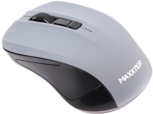 Мышь Maxxter Mr-337-Gr Wireless Gray - изображение 1