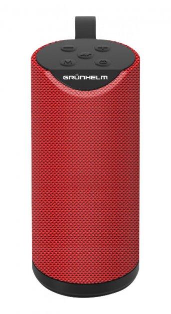 Портативна акустика Grunhelm GW-60R Червоний - изображение 1