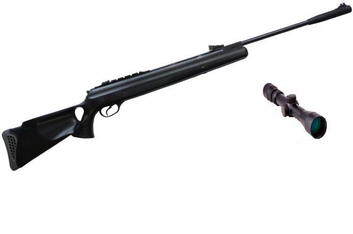 Пневматична гвинтівка Hatsan 125 TH з посиленою газовою пружиною 3-9х32 Sniper AR - зображення 1
