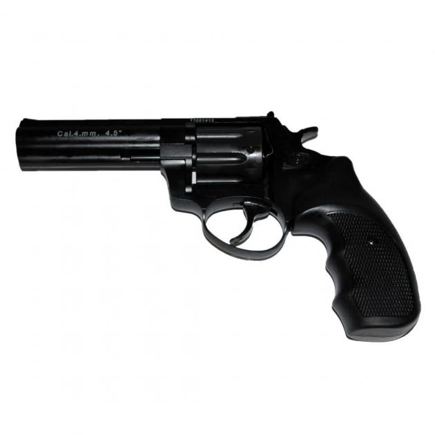 Револьвер Флобера Stalker 4,5 black силумін - зображення 1