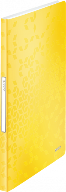 Папка пластиковая Leitz WOW А4 40 файлов Желтая (4632-00-16)