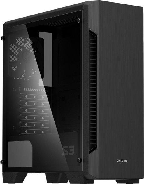 Корпус Zalman S3 TG Black (S3TG) - зображення 1