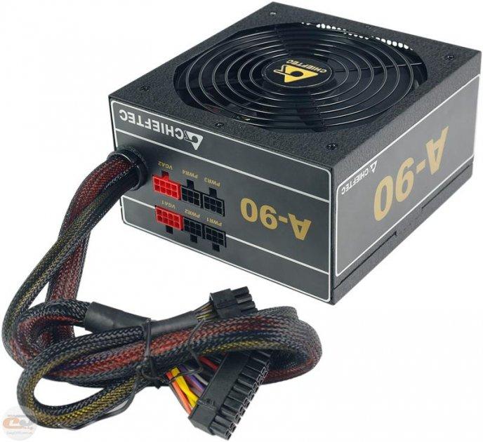 Блок питания Chieftec GDP-650C, ATX 2.3, APFC, 14cm fan, Gold, modular, RTL - изображение 1