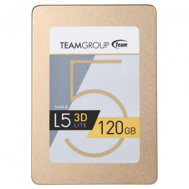 "Накопичувач SSD 2.5"" 120GB Team (T253TD120G3C101) - изображение 1"