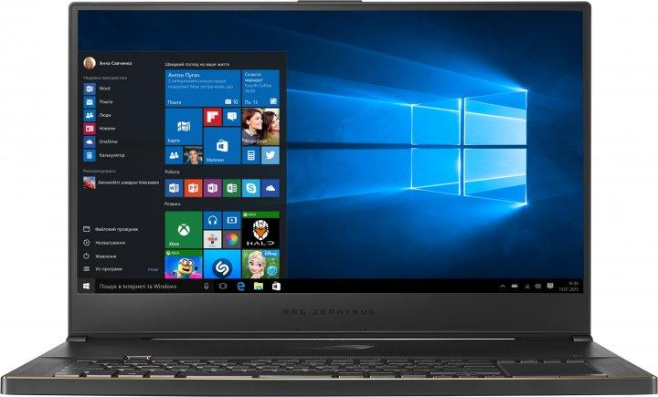 Ноутбук Asus ROG Zephyrus S GX701GXR-EV013T (90NR02J1-M00910) Black Metal - изображение 1