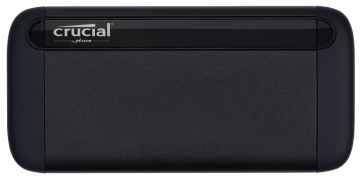 Crucial X8 Portable SSD 500GB USB 3.2 Type-C 3D NAND QLC (CT500X8SSD9) External - зображення 1