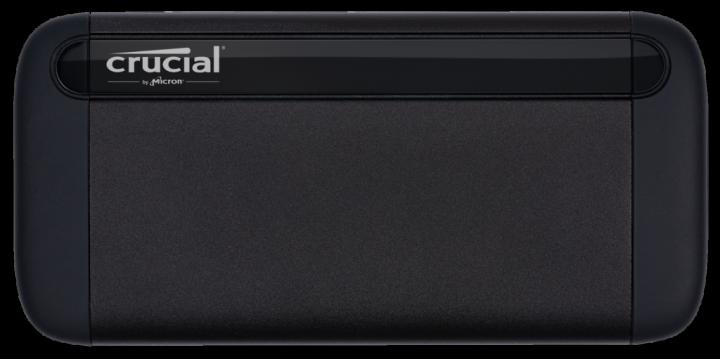 Crucial X8 Portable SSD 1TB USB 3.2 Type-C 3D NAND QLC (CT1000X8SSD9) External - зображення 1
