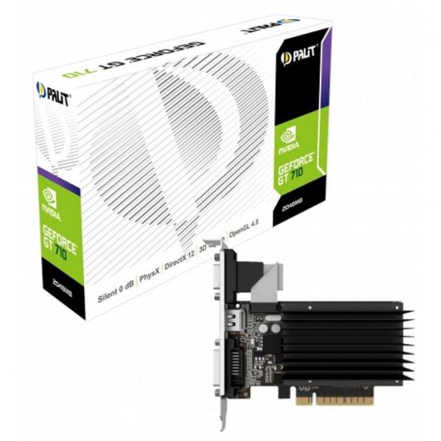 Відеокарта GeForce GT710 2048Mb PALIT (NEAT7100HD46-2080H) - зображення 1