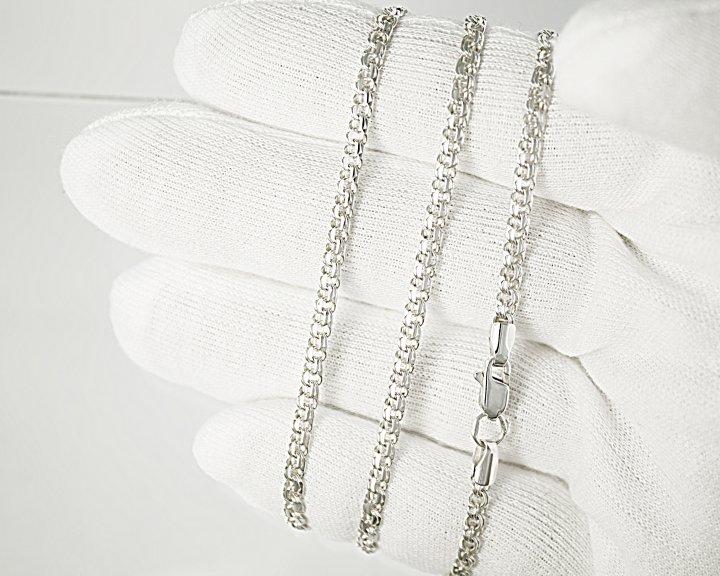 Женский браслет CHAS Бисмарк классический Cеребро 925пробы 14 см. - изображение 1