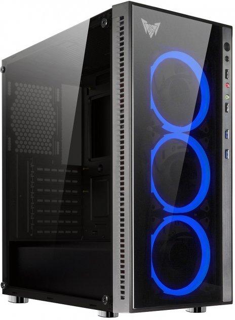 Корпус Crown CMC-GS10B 600 Вт Black (CMC-GS10B 600W PLUS) - зображення 1