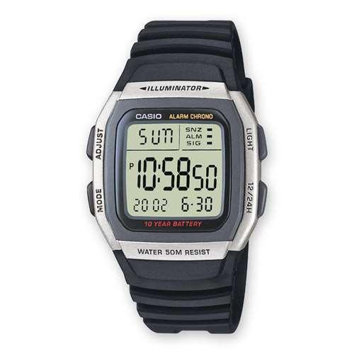 Мужские часы Casio W-96H-1AVES - зображення 1
