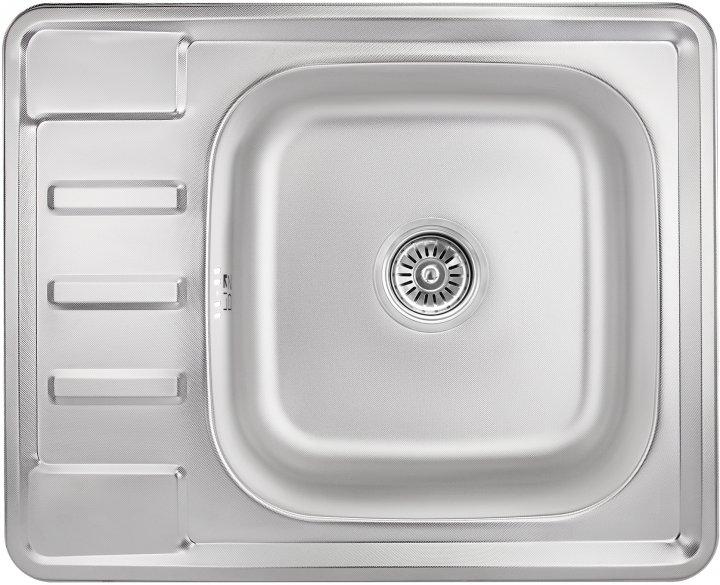 Кухонна мийка LIDZ 6350 Micro Decor 0.8 мм (LIDZ6350MDEC) - зображення 1