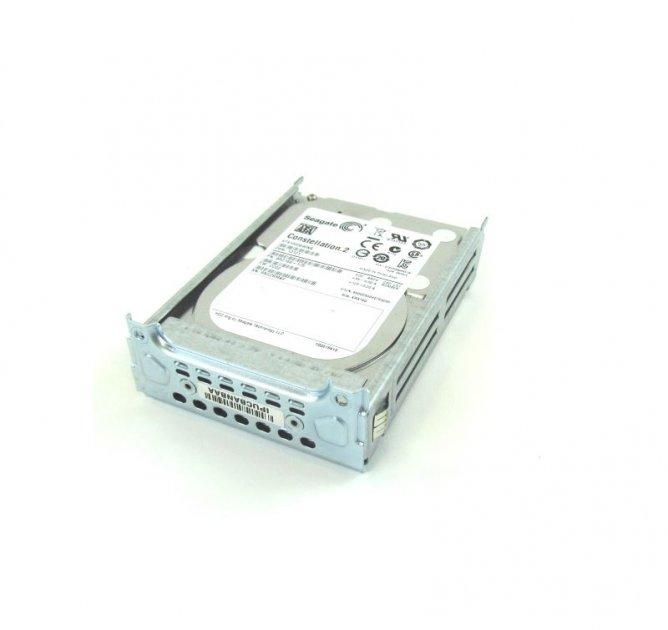 HDD Cisco Cisco 1 TB, SATA hard disk drive for SingleWide UC (E100S-HDD-SATA1T) Refurbished - зображення 1