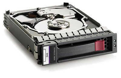 HDD HP HP 6TB 6G SAS 7.2 K rpm LFF (3.5-inch) SC Midline Hard Drive (761477-B21) Refurbished - зображення 1