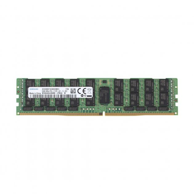 Оперативная память Samsung SAMSUNG 64GB DDR4 2133MHz 4Rx4 1.2V LRDIMM (A841131-OEM) Refurbished - изображение 1
