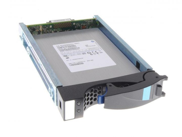 SSD EMC EMC 400gb 3.5 inch SSD Fast Cache for VNX (FLV4VS6FX-400) Refurbished - зображення 1
