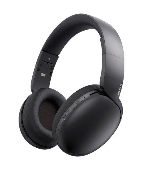 Навушники безпровідні Grunhelm GH-600BT Чорний - изображение 1