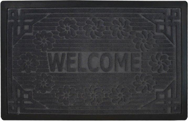 Придверный коврик Мой Дом 50х80 Серый (TZR01458/Gr) - изображение 1