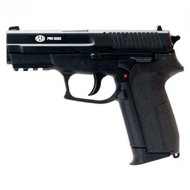 Пистолет пневматический SAS Pro 2022 черный - изображение 1