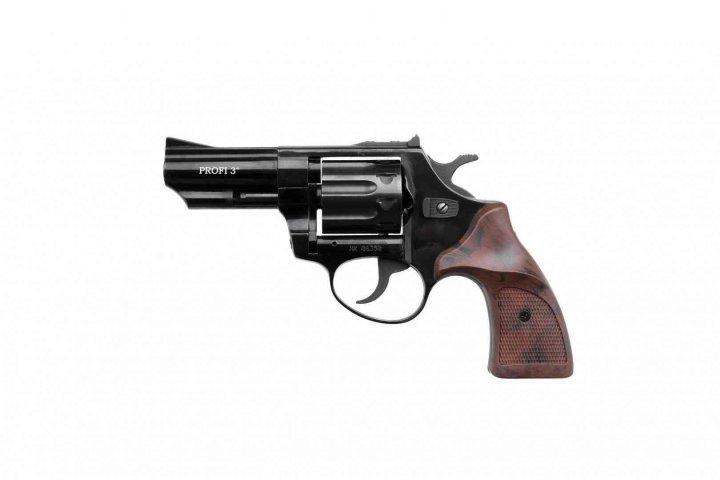 Револьвер под патрон флобера PROFI-3 черный/Pocket - зображення 1