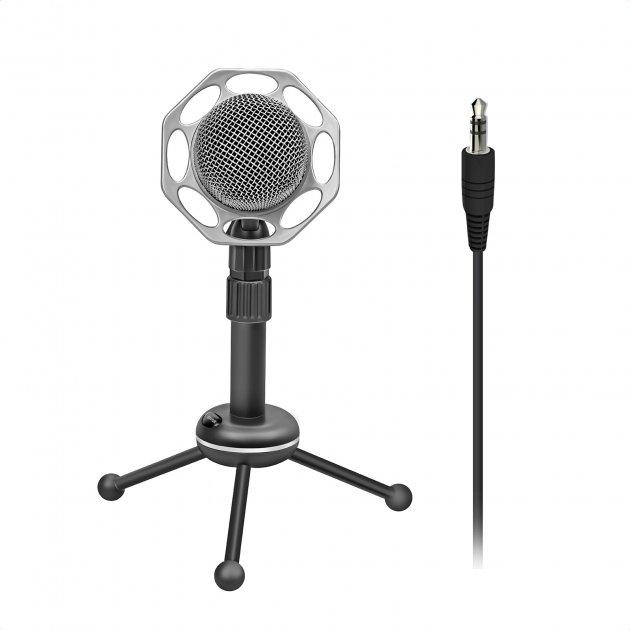 Микрофон Promate Tweeter-8 Mini-jack 3.5 мм Black (tweeter-8.black) - изображение 1