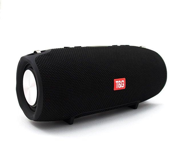 Портативная Bluetooth стерео колонка влагостойкая беспроводная T&G Xtreme Чёрная (Xtreme smol Black) - изображение 1