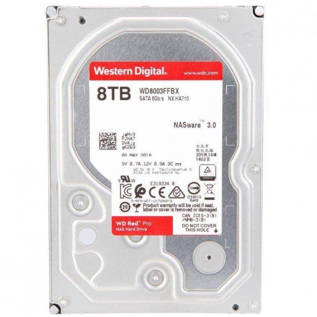 """Жорстку диск 3.5"""" 8TB Western Digital (WD8003FFBX) - зображення 1"""