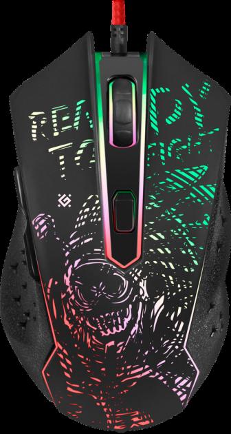 Мышь Defender Destiny GM-918 USB Black (52918) - изображение 1