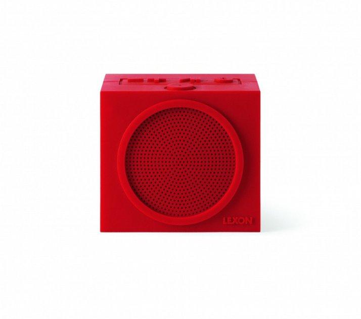 Динамик Lexon Tykho speaker Plus, красный - изображение 1