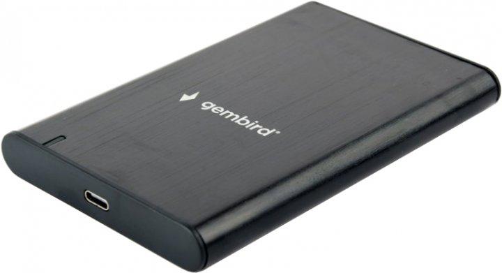 """Внешний карман Gembird для 2.5"""" SATA USB Type-C 3.1 Black (EE2-U3S-6) - изображение 1"""