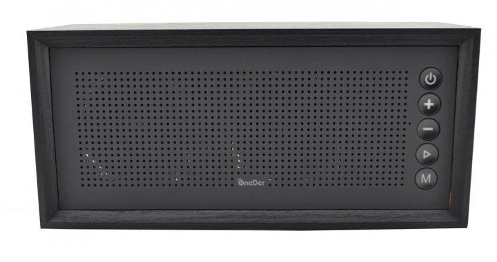 Портативная деревянная акустика AG OneDer V2 Bluetooth колонка Wireless Speaker - изображение 1
