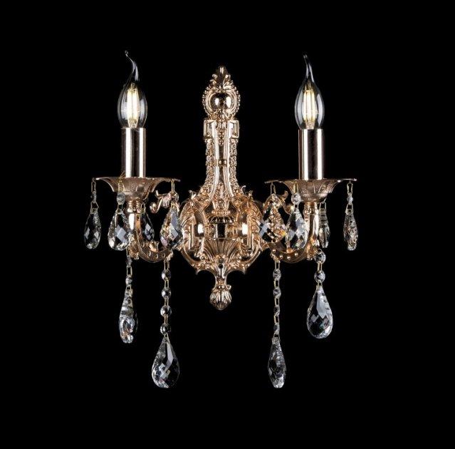 Бра классическое с хрусталем Splendid-Ray 30-3828-86 - изображение 1
