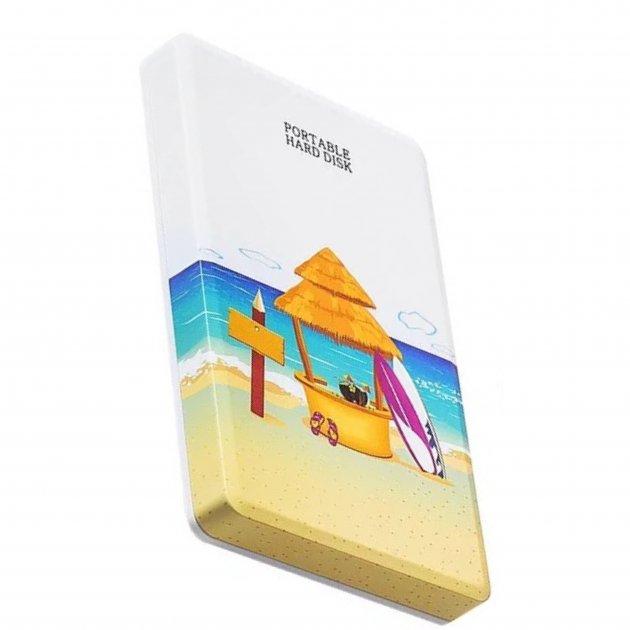 Внешний Жесткий диск Blueendless U25 500 Gb USB 3.0 Пляж - зображення 1