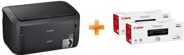 Canon i-SENSYS LBP6030B (8468B042AA) + 2 картриджа в комплекте! - изображение 1