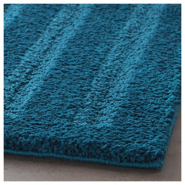 Коврик для ванной комнаты IKEA EMTEN темно-синий 204.228.86 - изображение 1