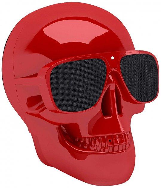 Акустическая система Jarre Technologies AeroSkull Nano Glossy Red - изображение 1