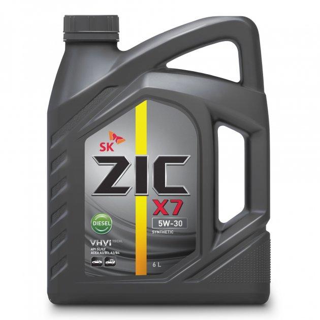 Моторное масло ZIC X7 5W-30 Diesel 6л - изображение 1