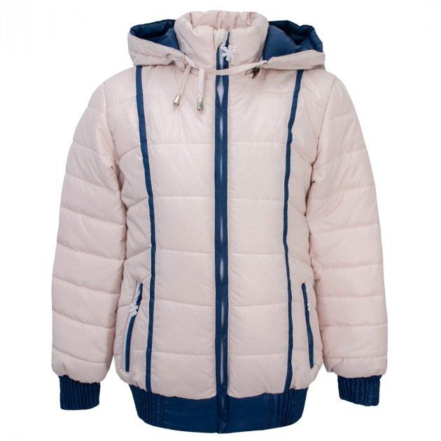 Куртка для девочки Delfin-free 1853 122 см Бежевый - изображение 1