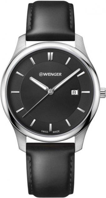 Чоловічий годинник Wenger W01.1441.101 - зображення 1