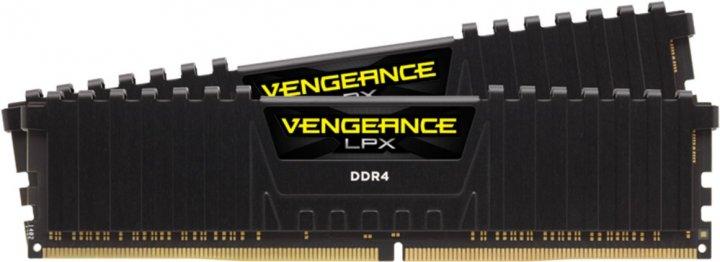 Оперативна пам'ять Corsair DDR4-4133 32768MB PC4-33000 (Kit of 2x16384) Vengeance LPX Black (CMK32GX4M2K4133C19) - зображення 1