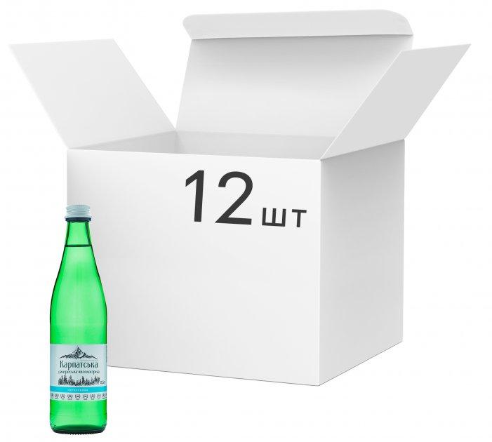 Упаковка питьевой негазированной воды Горянка 0.5 л х 12 бутылок (4820227100422) - изображение 1