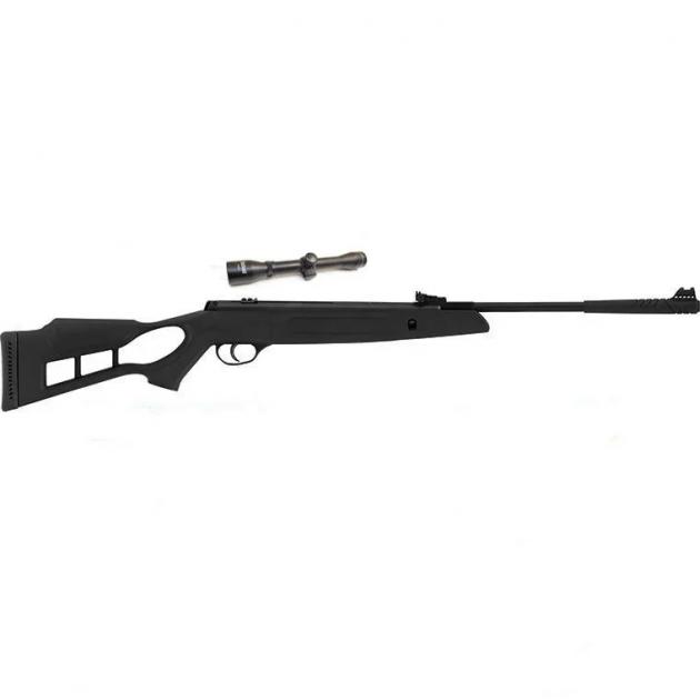 Пневматична гвинтівка Hatsan Striker Edge з посиленою газовою пружиною ВП 4х32 + кулі в подарунок - зображення 1