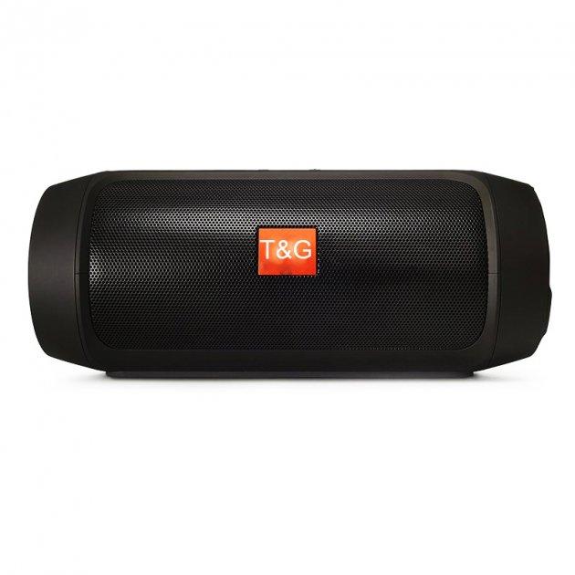 Портативна bluetooth колонка MP3 плеєр T&G E2 mini Чорна (E2 mini Black) - зображення 1