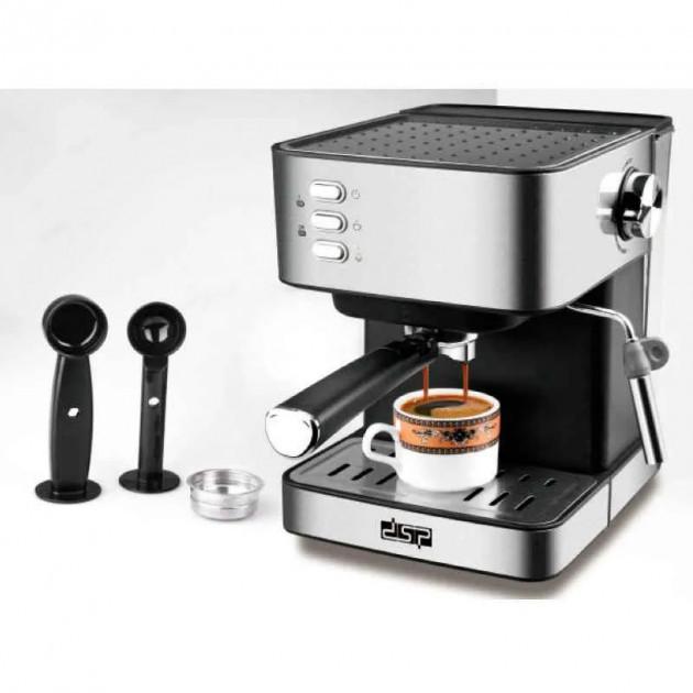 Кофемашина DSP Espresso Coffee Maker KA-3028 полуавтоматическая с капучинатором - изображение 1