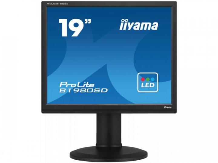 Монітор Iiyama ProLite B1980SD-B1 - зображення 1