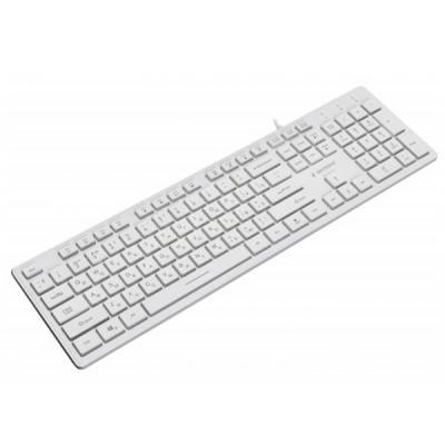 Клавіатура GEMBIRD KB-UML3-01-W-RU - зображення 1