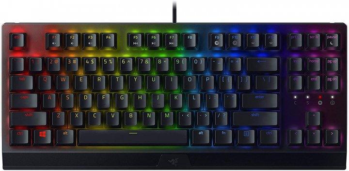 Клавиатура проводная Razer BlackWidow V3 TKL Razer Green ENG USB (RZ03-03490100-R3M1) - изображение 1