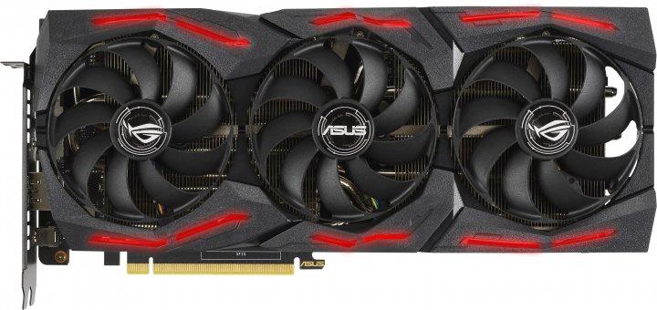Asus PCI-Ex GeForce RTX 2060 Super ROG Strix A8G Gaming EVO Advanced Edition 8GB GDDR6 (256bit)(1470/14000)(DisplayPort, HDMI, USB Type-C)(ROG-STRIX-RTX2060S-A8G-EVO-GAMING) - зображення 1